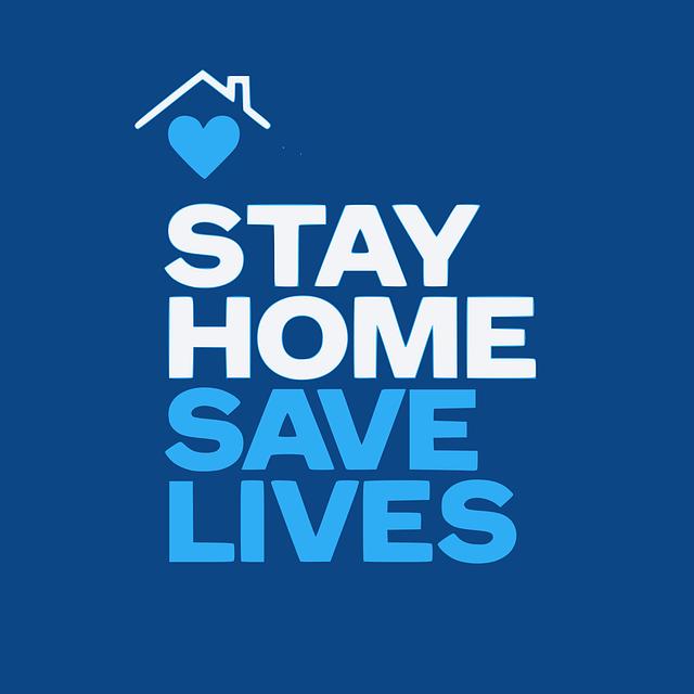 Sauvez des vies, restez chez vous !